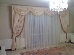 комплект штор для гостиной.