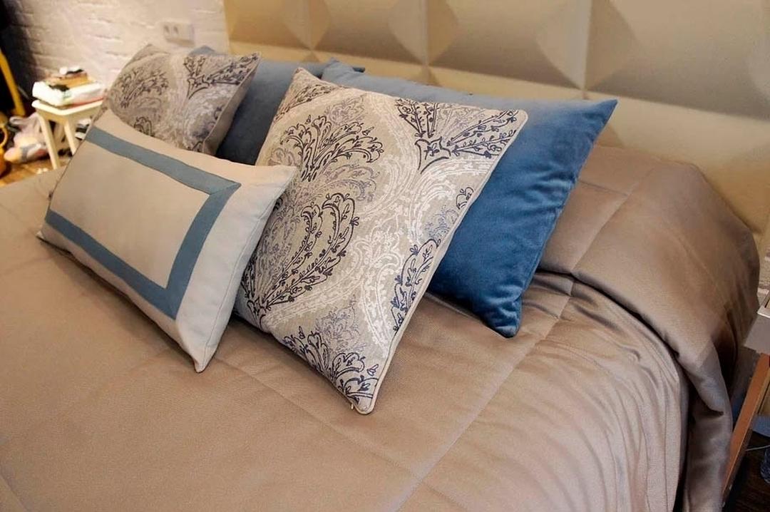 подушки к покрывалу на заказ