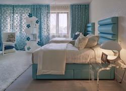 Модные шторы для спальни.