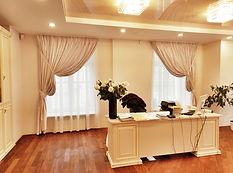 Декоративные шторы для кабинета