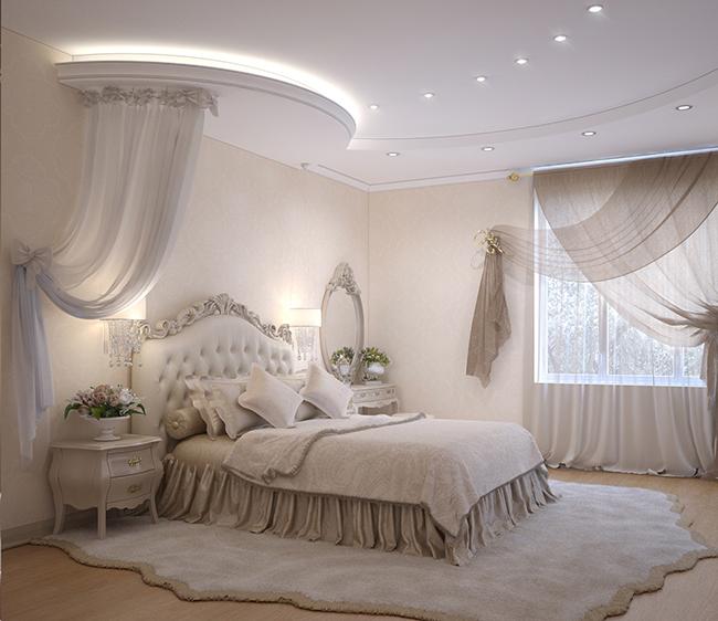 Рококо для спальни.