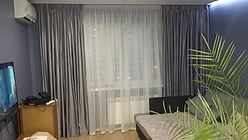 Портьерные шторы для зала