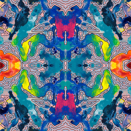 Kaleidoscope (Pink)