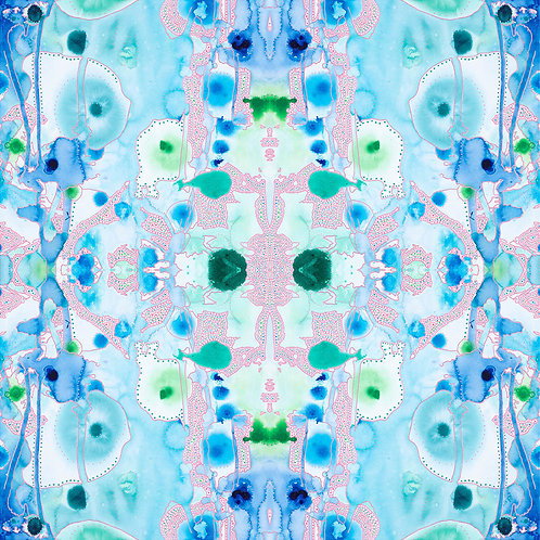 Kaleidoscope (Seafoam)