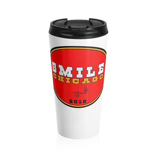 Smile Chicago2018 Stainless Steel Travel Mug