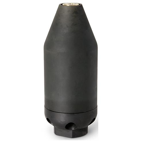 """1"""" EHLE-HD Twister dyse -Lang, Ø150 til Ø400mm."""