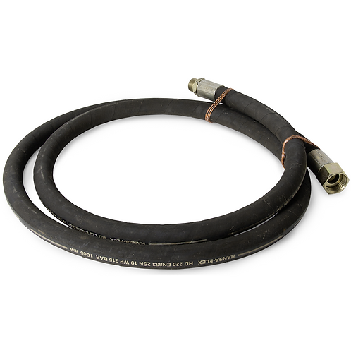 "Adapterslange 3/4"" - 1"" 3m. lang for EHLE-HD HWB Hydro-Power Rodkærer."