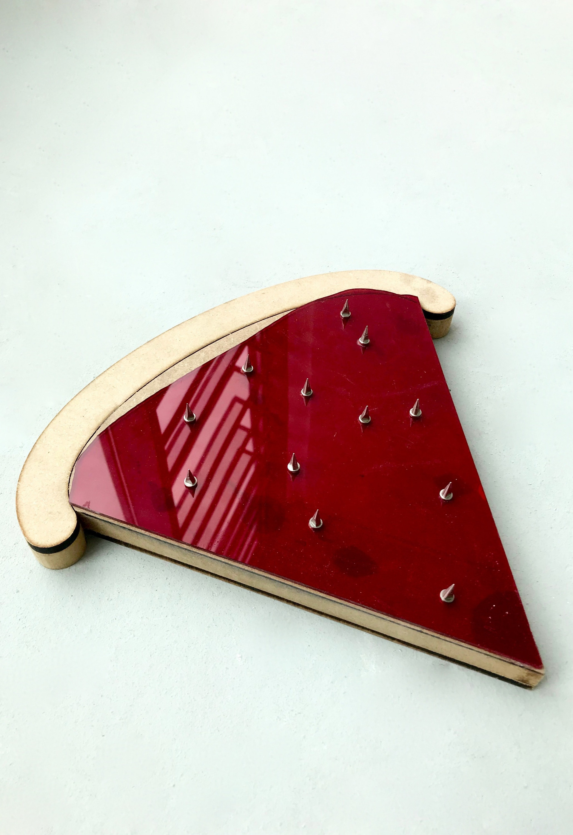 pizza slice track spikes
