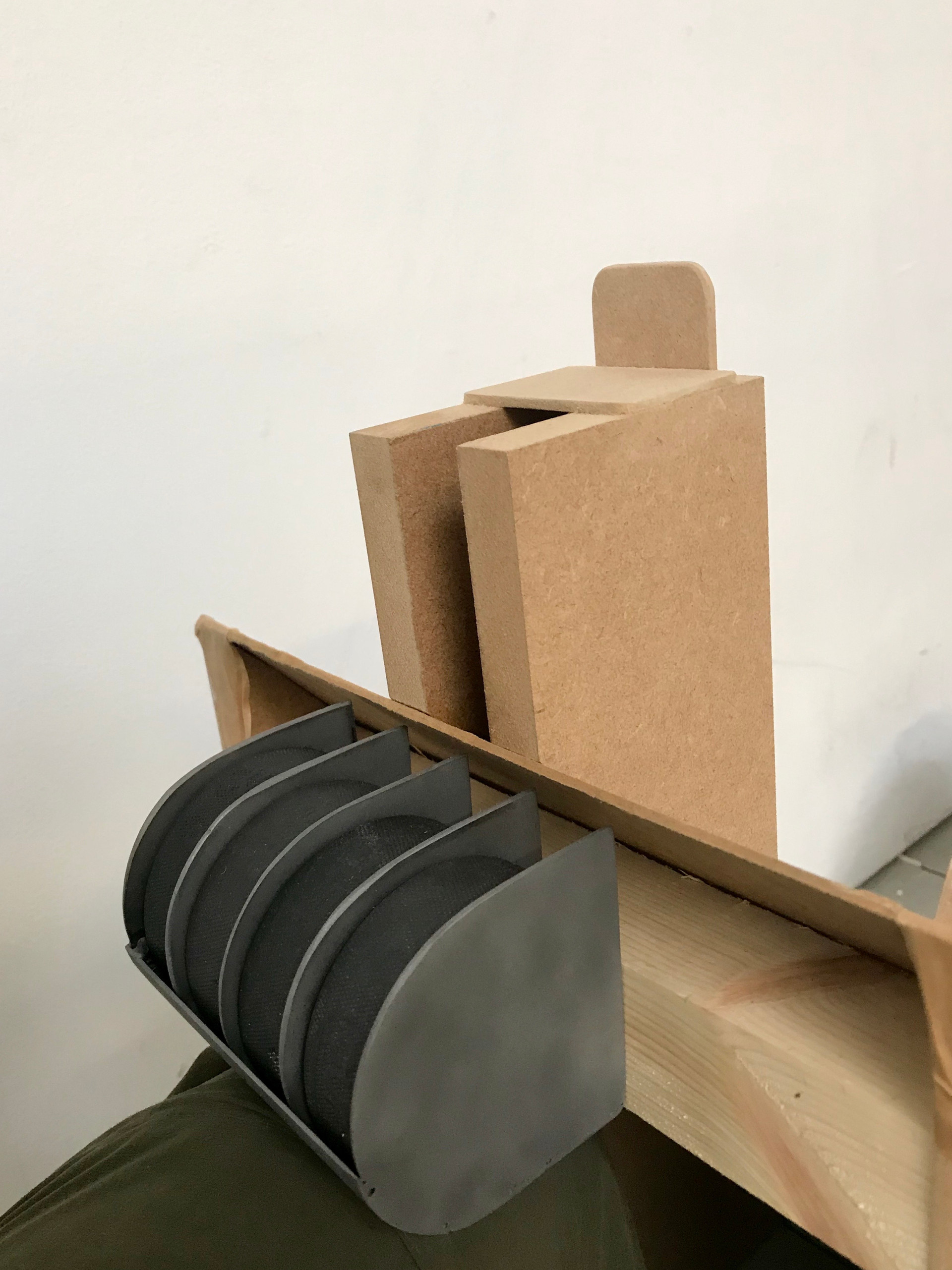 puck rack holder