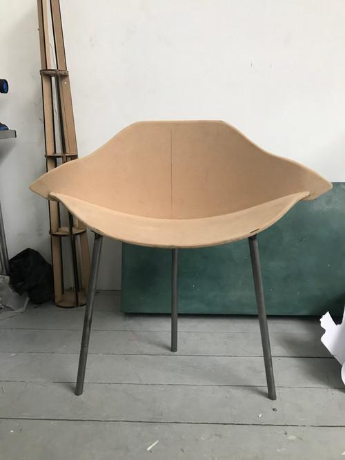 duck chair in studio