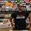 Thumbnail: Hard Questions (white/red print) short sleeve t-shirt