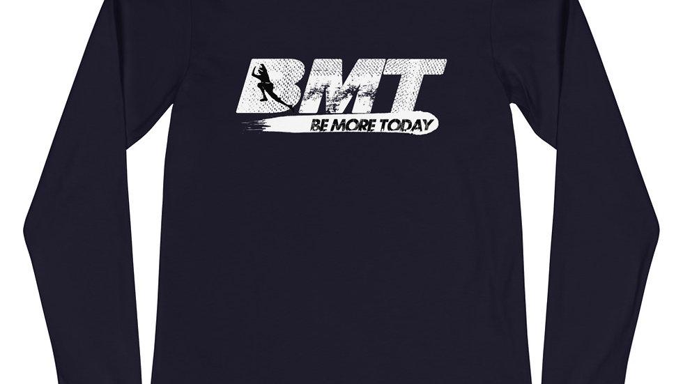 BMT (white print) long sleeve t-shirt