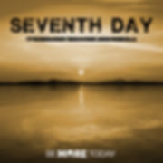 Electronc dance music single about the seventh day by Be More Today