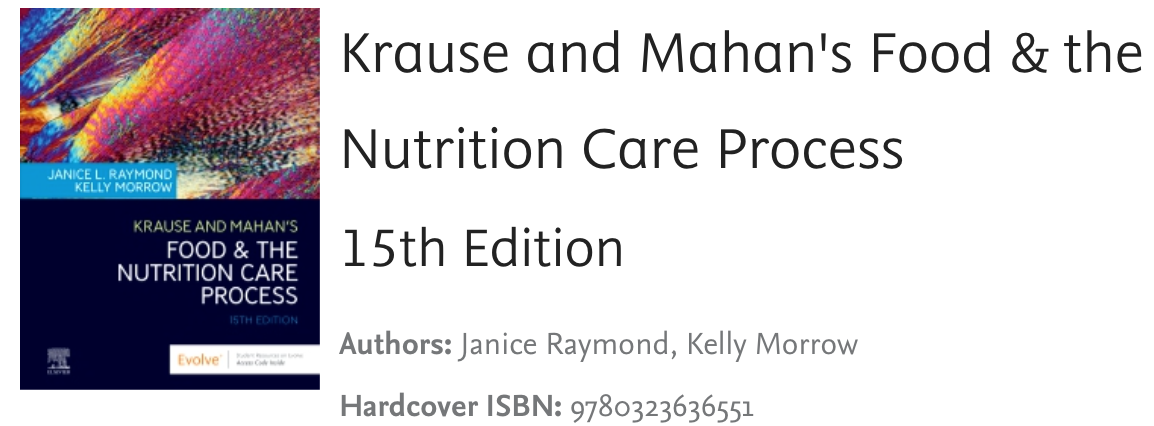 Author of the oncology chapter in this leading nutrition textbook