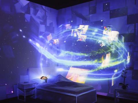 Toshiba 3D Projection Mapping | Dubai, UAE