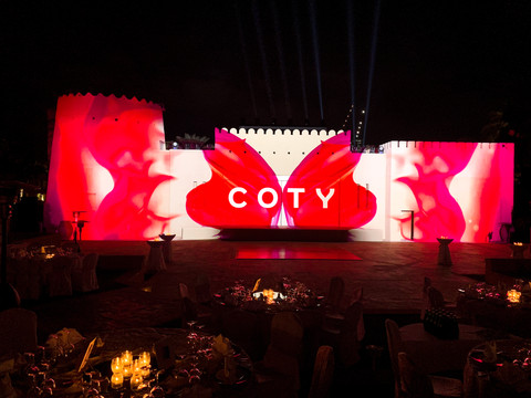 Coty Conference 3D Mapping   Dubai, UAE