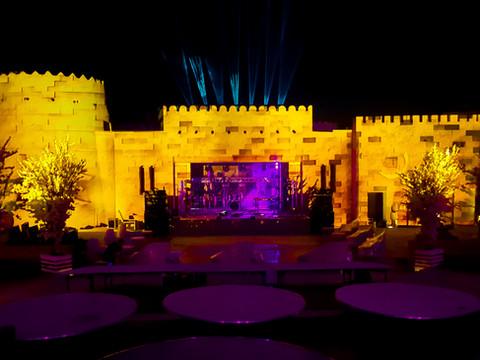 UAE Wedding 3D Mapping | Dubai, UAE