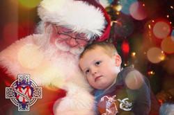 Santa Snuggle WM
