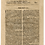 Thumbnail: Peony on Newspaper from June 8th 1713 - Original