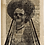 Thumbnail: Lady Skull on Newspaper from August 11th 1713 - Original
