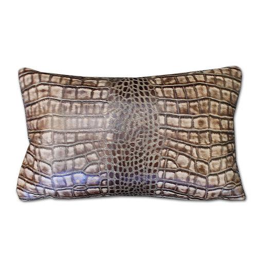 Croc Hide Pillow