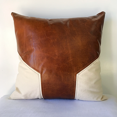 Cowhide Canvas Graphic Pillow