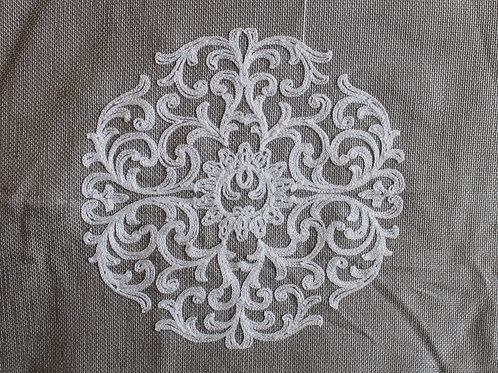 Windsor Medallion_Taupe