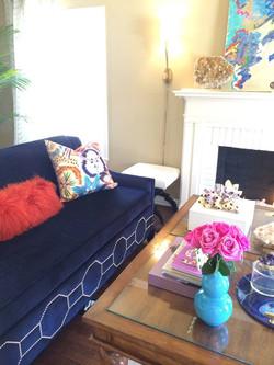Lauren Blue Chair