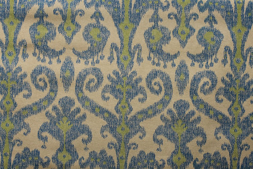 Ikat Blue and Green