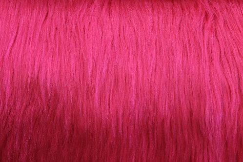 Faux Fur_Hot Pink
