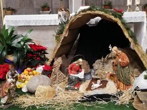 Bendición del niño Jesús para ponerlo en nuestro Belén