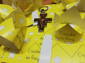 Tarde / Semana 5+1 porque celebramos a CRISTO REY