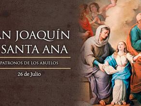 Día de los Abuelos. Fiesta de San Joaquín y Santa Ana