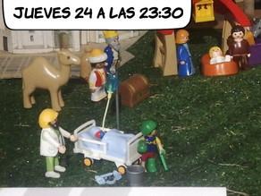 Misa del Gallo, Jueves 24Diciembre.