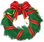 Christmas_Wreath_with_Red_Bow_PNG_Clipar