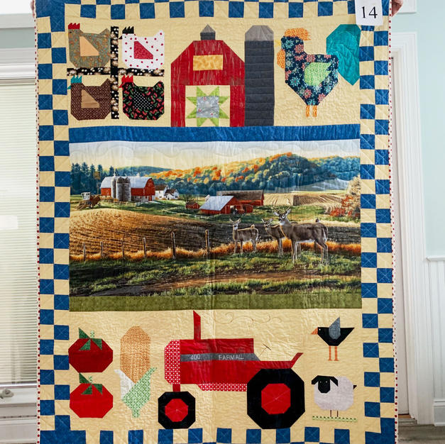 Quilt 14, First Place