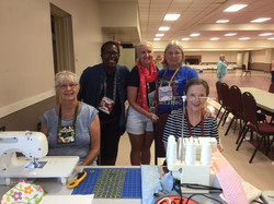Charity Sew Day, June 2016