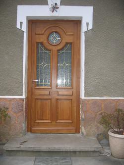 Porte d'entrée sur mensure