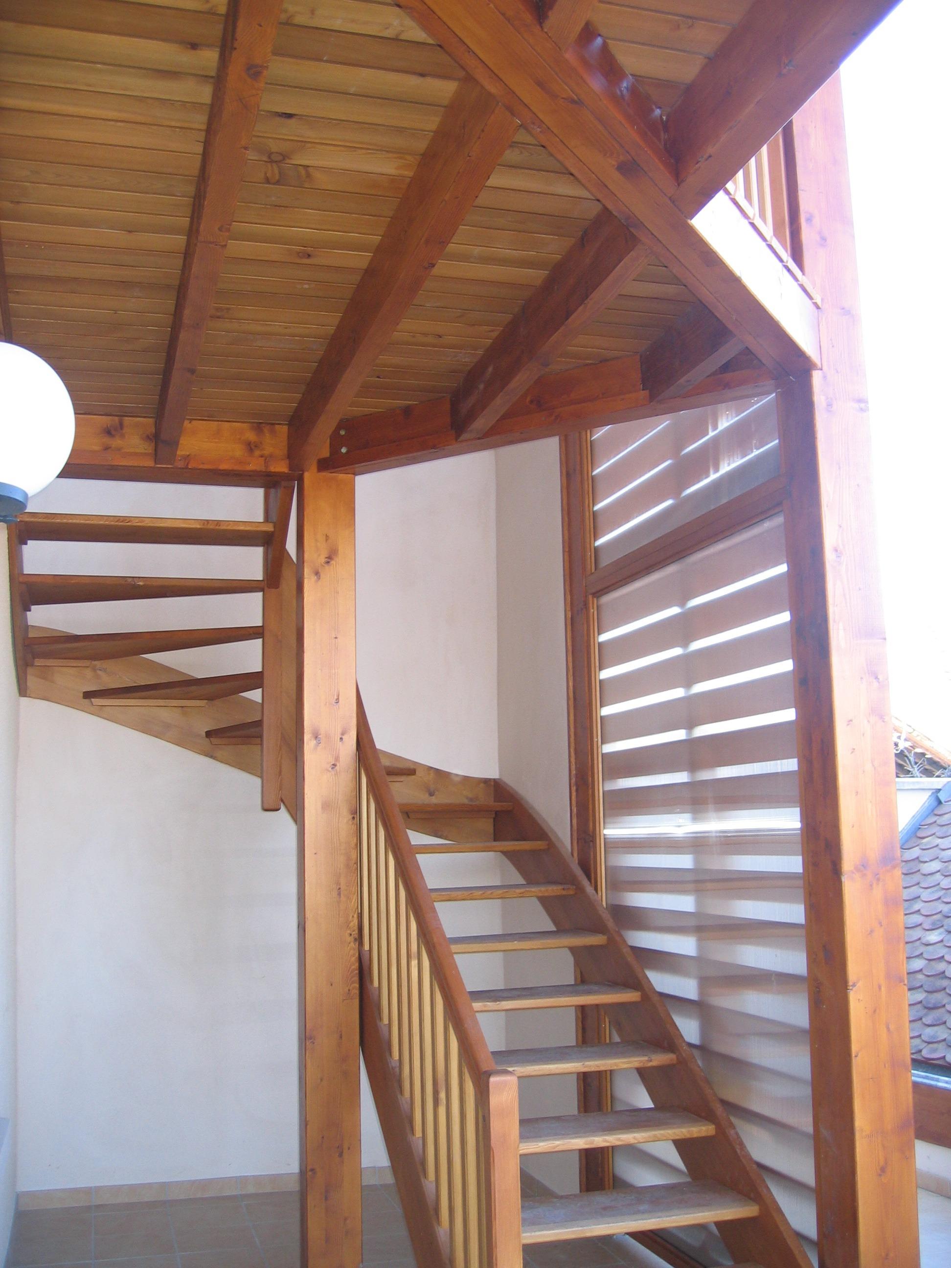 escalier sans contre marche