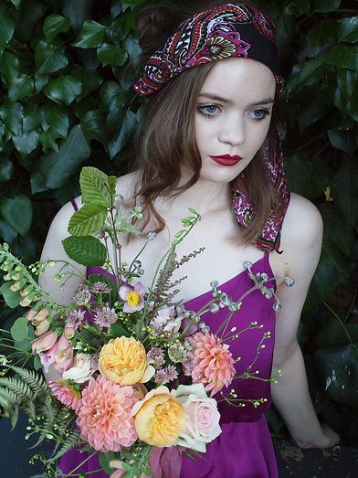 Country informal florist vintage style