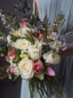 Country style wedding flowers