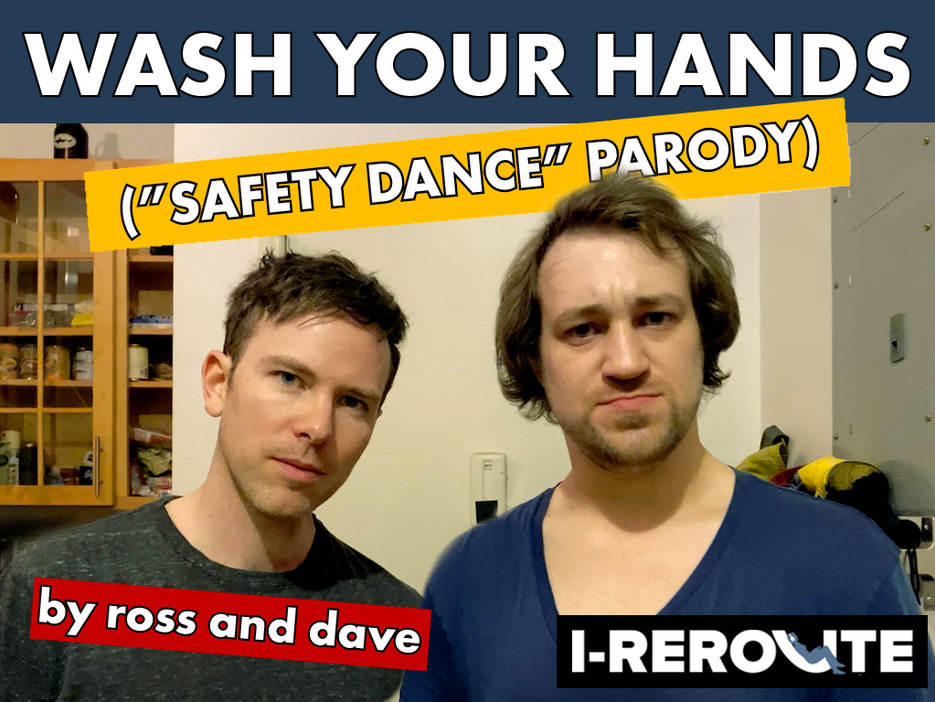 "Wash Your Hands (""Safety Dance"" Parody)"