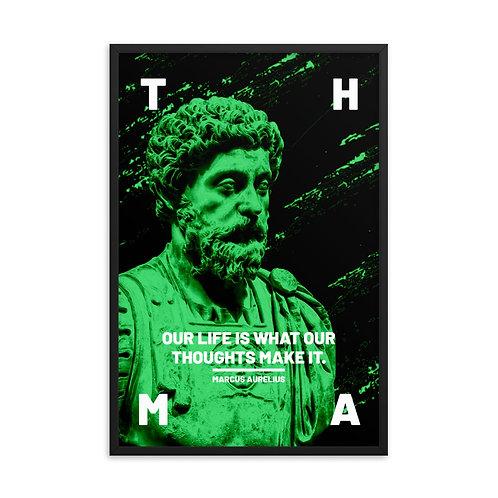 Marcus Aurelius Premium Framed Poster