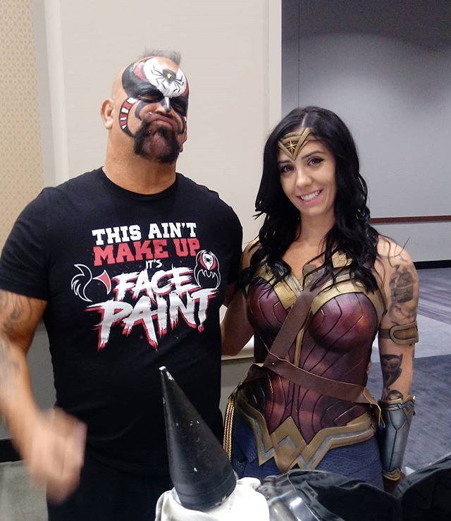 Jamie and Road Warrior Animal