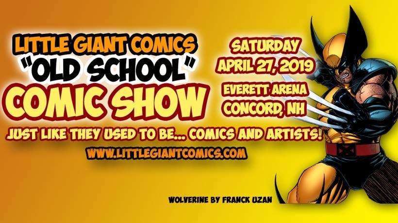 Little Giants Old School Comic show