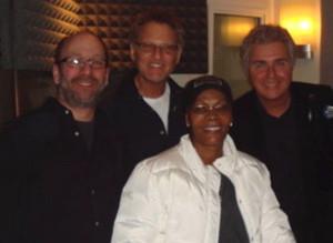Jon, Bob Mann, Dionne Warwick & Steve Tyrell
