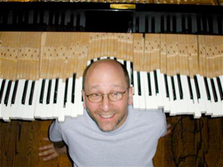 Jon and his piano