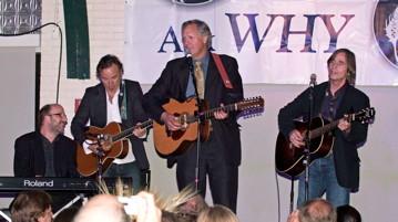 Jon, Bruce, Tom & Jackson Browne