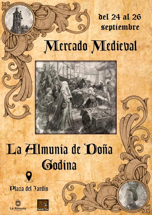 Mercado Medieval en la Almunia de Doña Godina (Zaragoza)