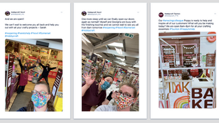 Hobbycraft store re-openings! | #ShopfloorHeroes